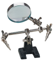Helping Hands With 2 X Magnifier
